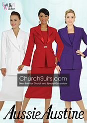 Aussie Austine Fall/Winter Women Usher Suits