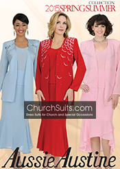 Aussie Austine Georgette Church Suits Spring/Summer 2015