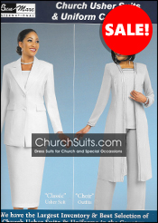 Ben Mac Church Usher Suits & Uniforms 2018