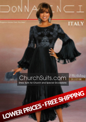 Donna Vinci Church suits 2019 Fall/Holiday Collection