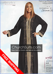 Donna Vinci Church Robes Suits 2019 Spring