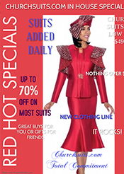 Church Suits In-House Specials