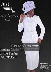 Just White By Tally Taylor Church Suits Spring/Summer 2015