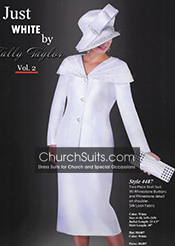 Just White by Tally Taylor Church Suits 2015