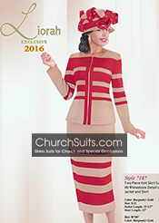 Liorah Exclusive Knits Fall/ Winter Church Suits 2016