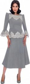 Devine Sport 62132 Denim Lace 2pc Dress