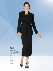 Aussie Austine Usher Suits Sizes 4 To 30 Poly Crepe Fabric 12441
