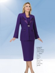 Aussie Austine Usher Suits Sizes 4 To 30 Poly Crepe Fabric 12427