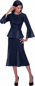 Devine Sport 62392 Embellished Denim 2pc Dress