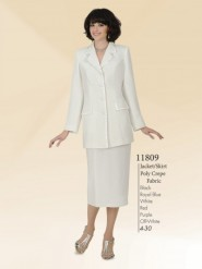 Aussie Austine Usher Suits Sizes 4 To 30 Poly Crepe Fabric 11809